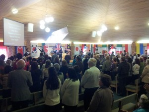 CIC Baptismal Service at BT