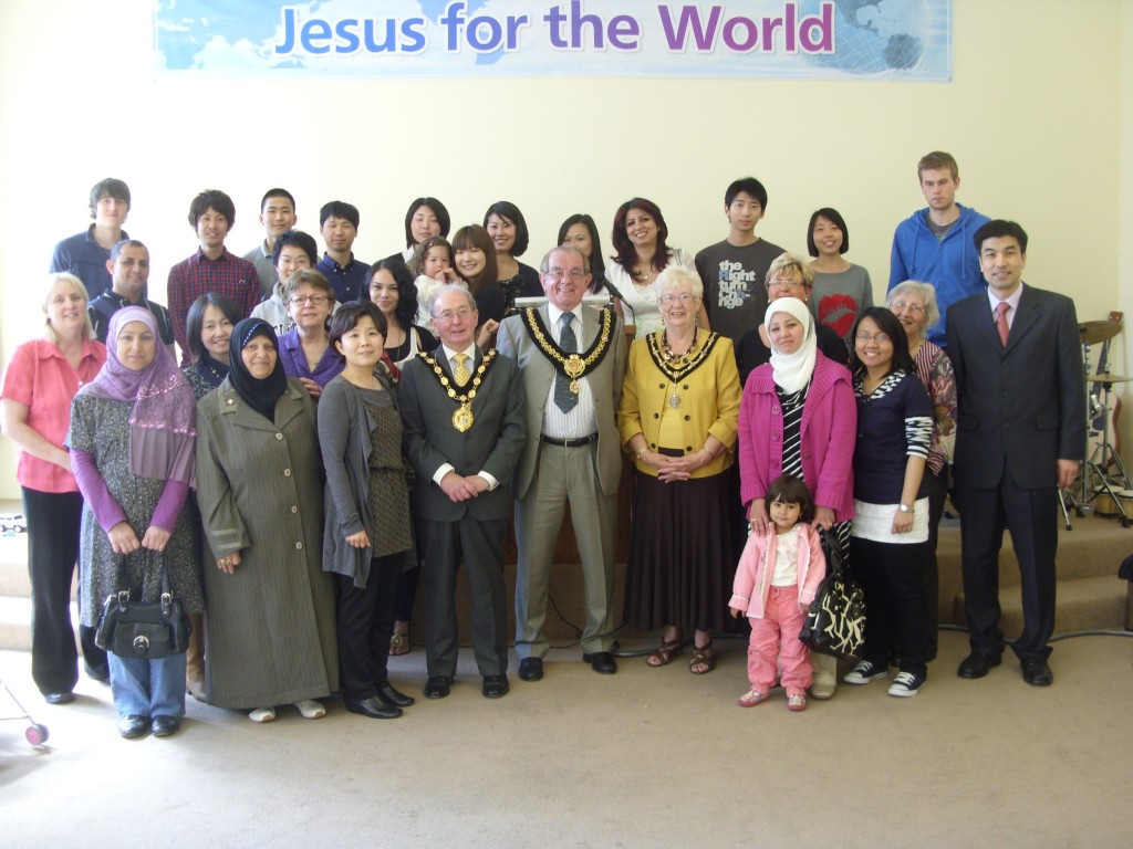 The Lord Mayor of Cardiff & the Mayor of Bridgend's Visit