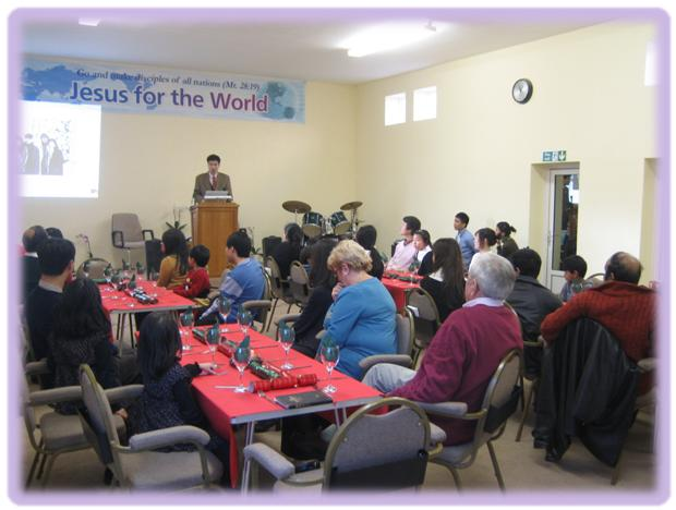 Christmas service & meal